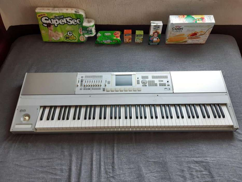 KORG M3-88 MUSIC WORKSTATION SAMPLER XPANDED v2.05