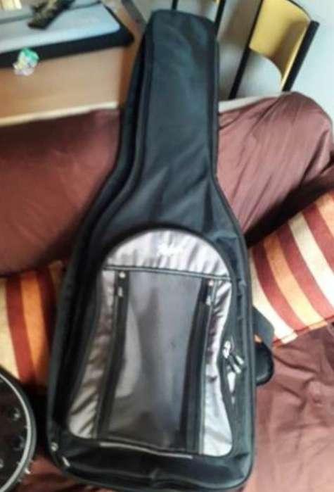 Guitarra Hofner Colorama P90 Black