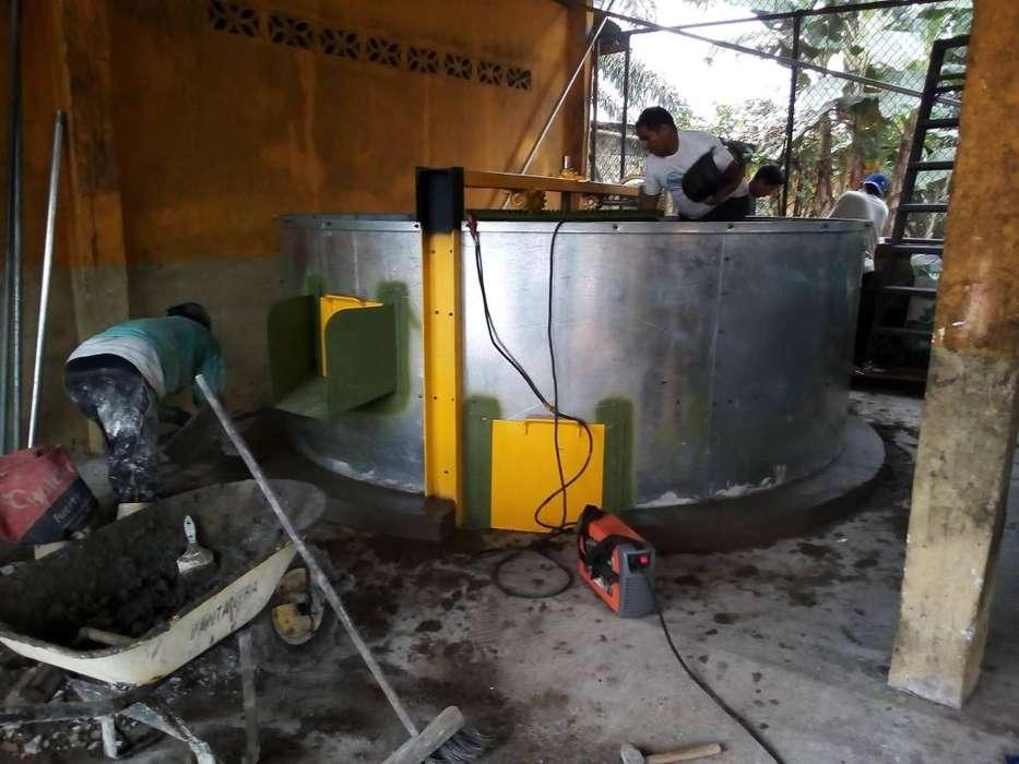 Secadora de Cacao con Removedor