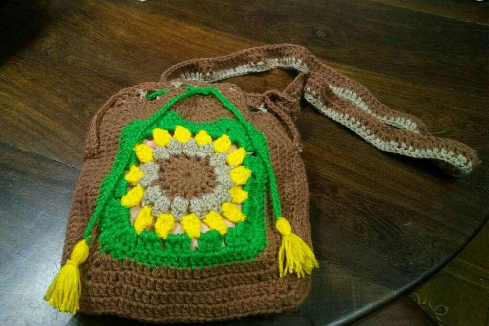 Morral Tejido Crochet