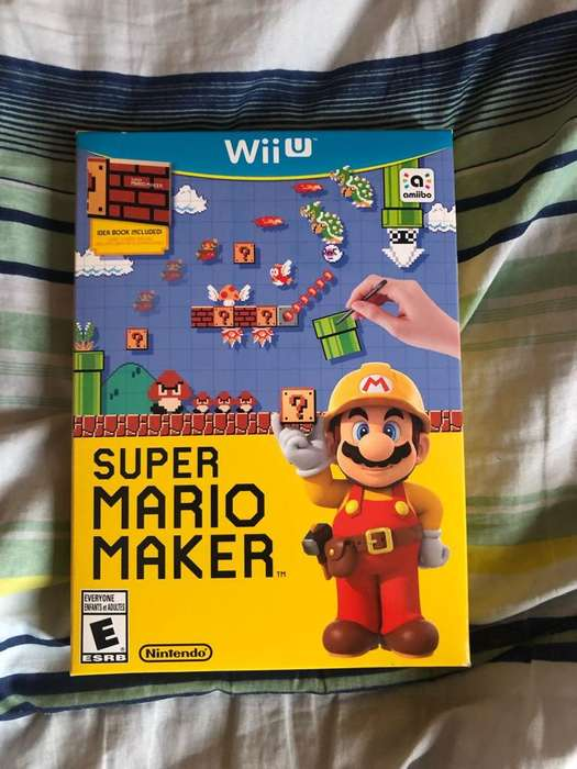 Super Mario Maker Wiiu