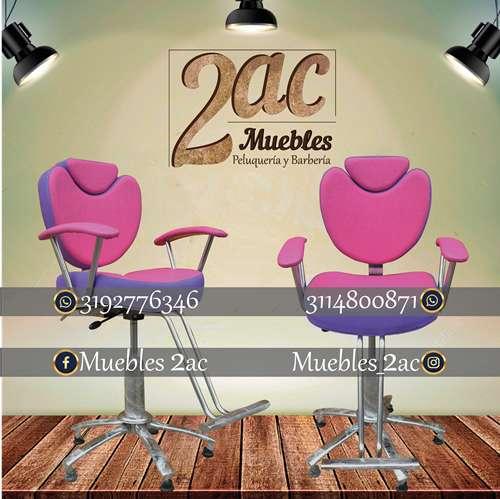 <strong>sillas</strong> Para Barbería Y Peluquería