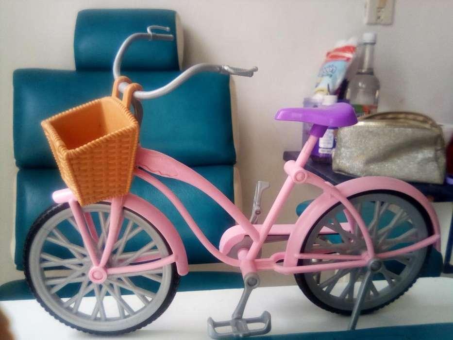 Bicicleta Y Moto Original de La Barbie