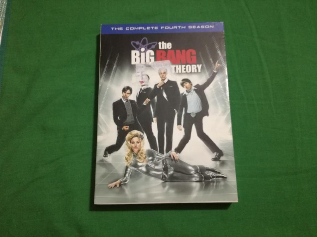The big bang theory 4ta temporada original
