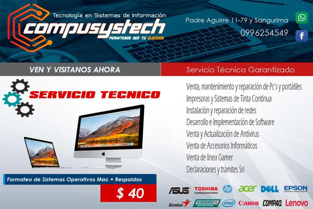 SERVICIO <strong>tecnico</strong> MAC