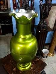 Florero Italy En Cristal Vende Deco Años 50s