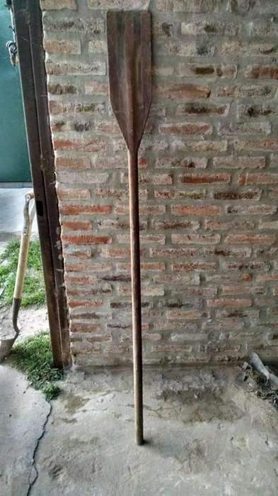 Remo de Madera con algunos detalles de acuerdo al uso.