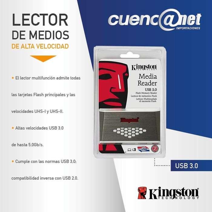 CARD MULTIMEDIA READER FCRHS4 USB 3.0 KINSTON