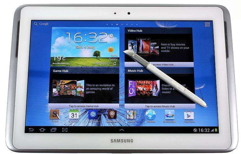 Tablet Galaxy Note Samsung 10.1 Gt-n8010, 2gb Ram, 16gb ampliada con tarjeta micro sd de 64Rom