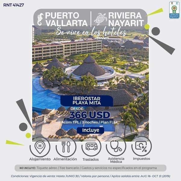 PUERTO VALLARTA MEXICO DESDE 1.200.000 POR PERSONA SIN TIQUETES WWW WEBAVIAJAR COM 305 3263880