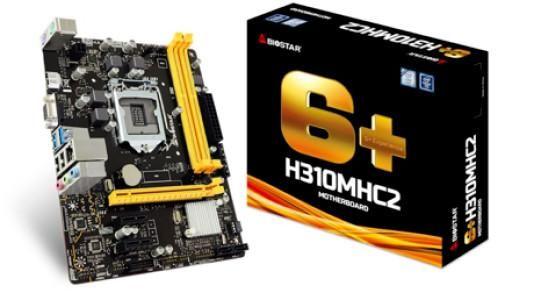 Biostar H310 Mainboard Intel Lga 1151 h310mhc Atx Ddr4 NEW
