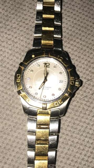 Tag Heuer Aquaracer 300 Diamond Watch Mens. Sapphire Crystal