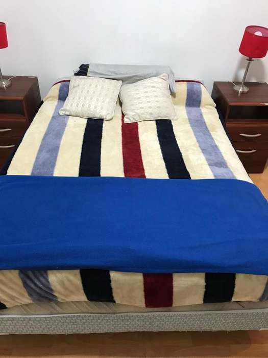 Combo habitación cama 2 plazas 2 <strong>mesas</strong> de luz veladores
