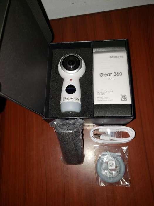 Venta de Cámara Samsung Gear 360, nueva.