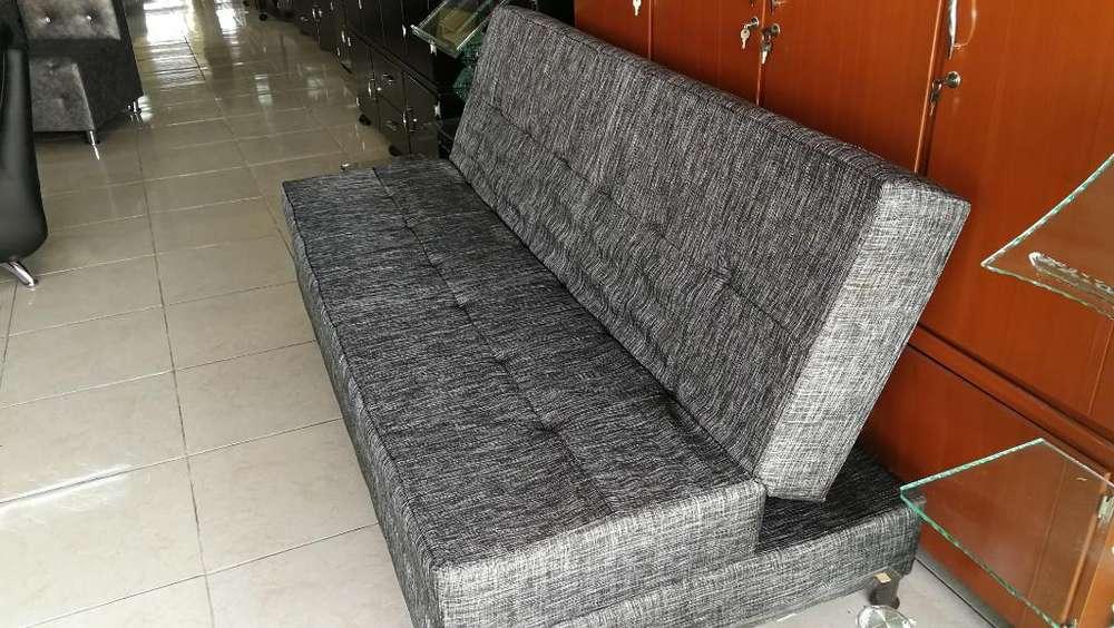 Sofa Cama en Leno