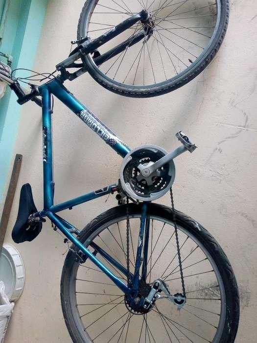 Vendo Bicicleta Todoterreno Azul Rin 26