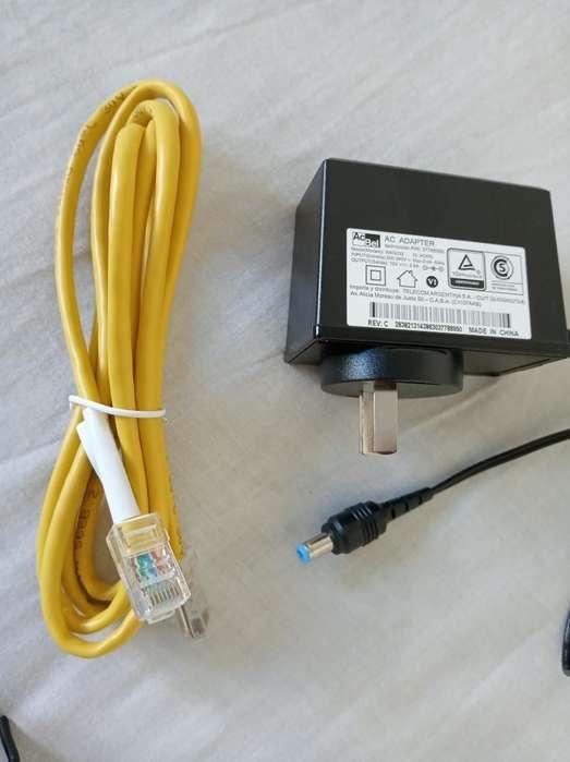 Transformador Y Cable Internet Nuevos