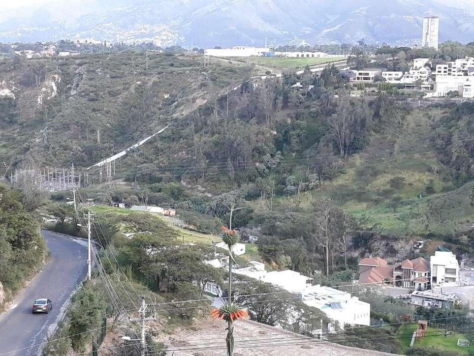 ''LOTE 1751 m2'' acepto canjes CON DEPTO por lote con VISTA GENIAL esta en Montearomo, FRENTE.cumbaya .