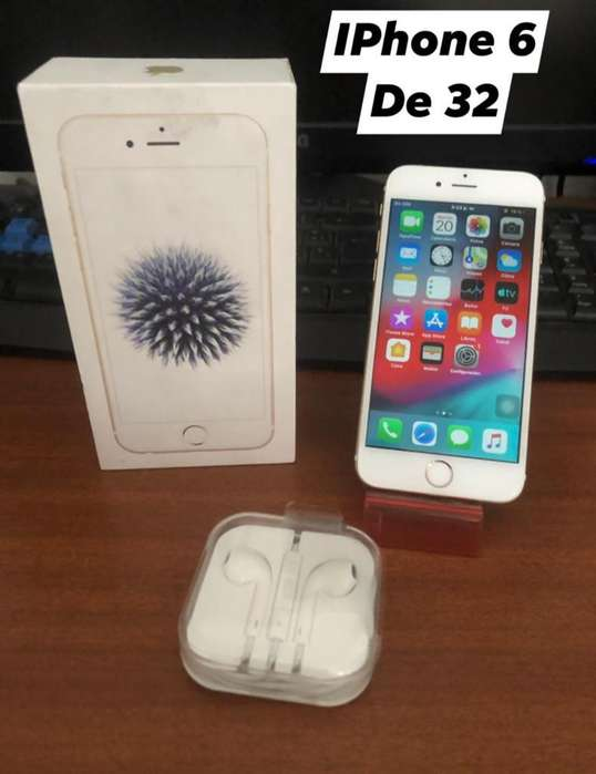 iPhone 6 de 32 Gb Gold