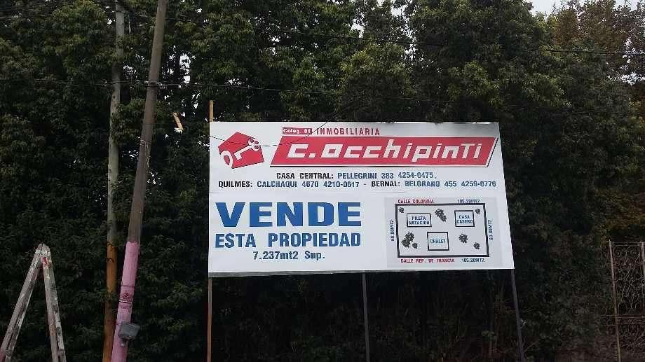 Fraccion en venta en Ezpeleta Oeste