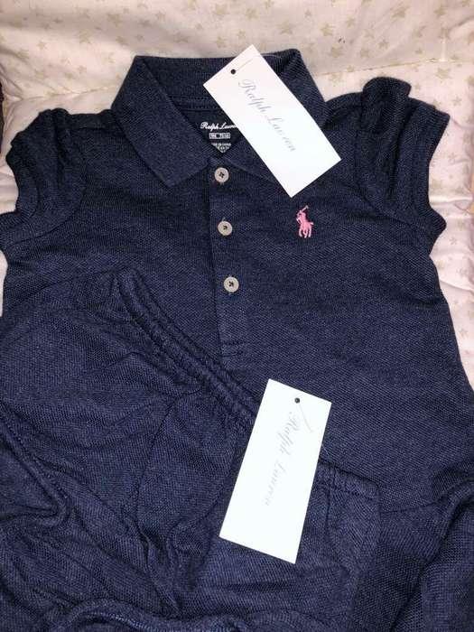 Vestido Bebe Polo Ralph Lauren