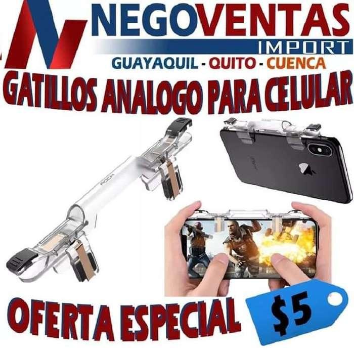 GATILLOS ANÁLOGOS PARA CELULAR OFERTA 5,00