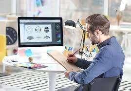 diseñador gráfico con conocimiento en social media