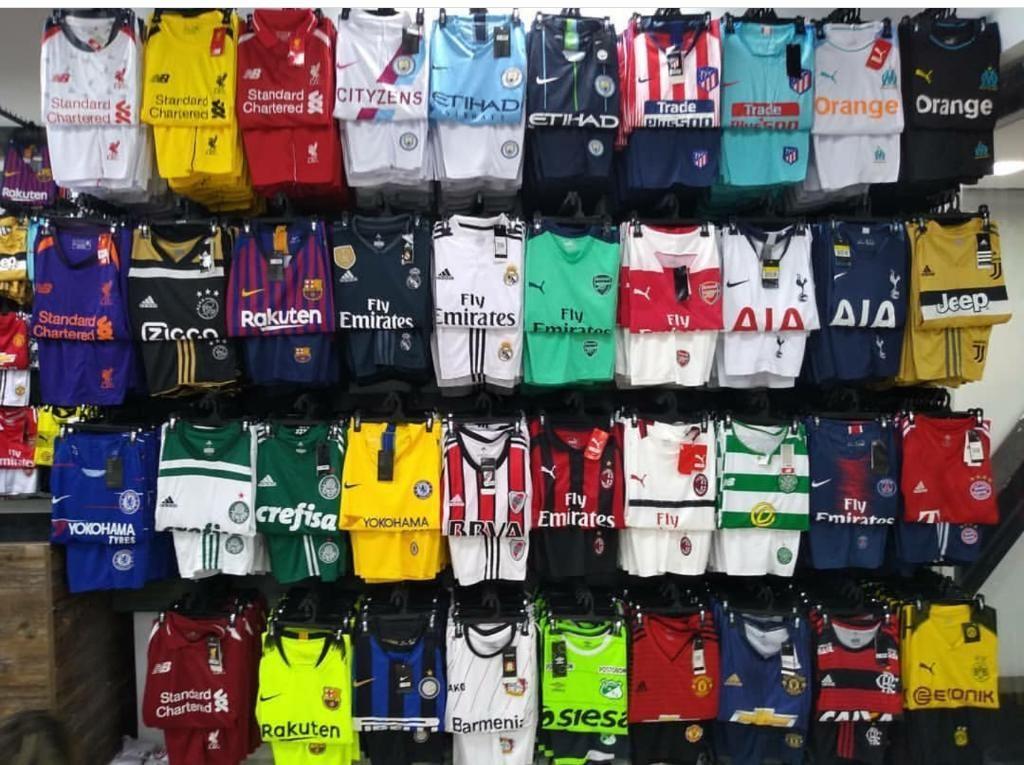 cffbb4a2273f2 Uniformes de Equipos de Futbol por Mayor - Cali