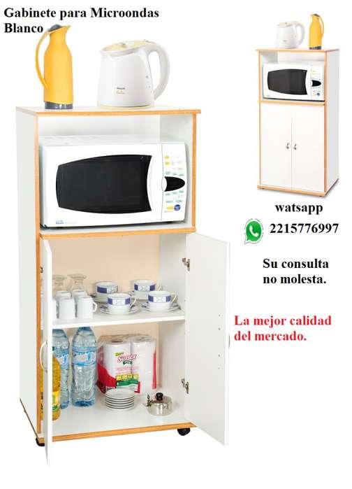 PROMO Gabinete para <strong>microondas</strong> Blanco Mod 3046