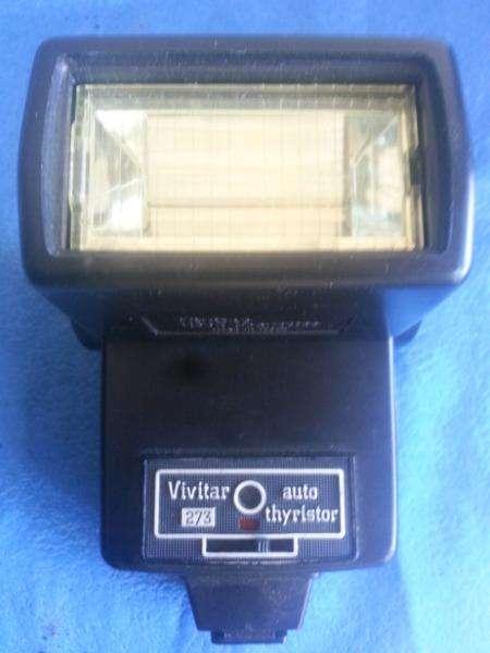 Flash <strong>vivitar</strong> 273 auto thyristor