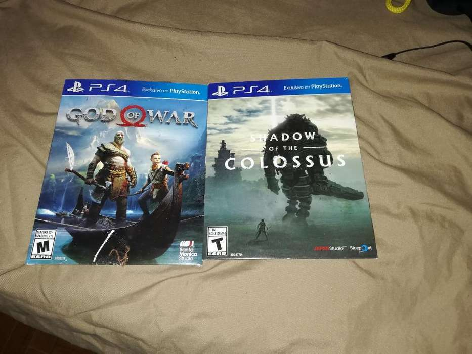 God Of War Y Shadow Of The Colossus Ps4