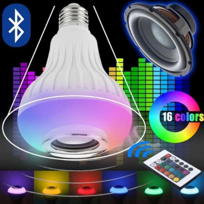 Foco Parlante con Bluetooth Y Control!!