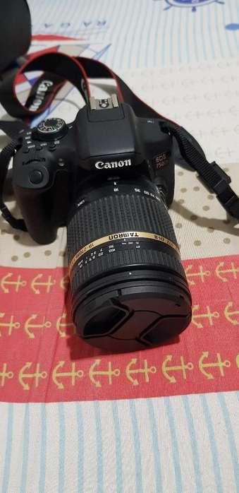 Canon Eos 750d- Lente Tamron 18-270mm