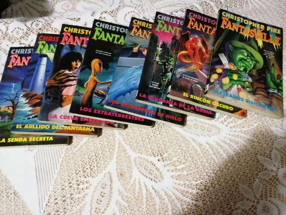 Colección de 8 Libros de Fantasville