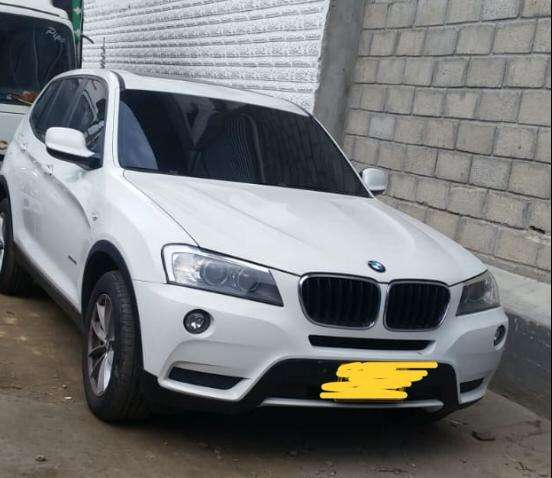 <strong>bmw</strong> X3 2013 - 80600 km