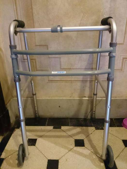 Andador Ortopedico Plegable Aluminio Con ruedas SILFAB
