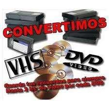 Pasamos tus videos viejitos a DVD