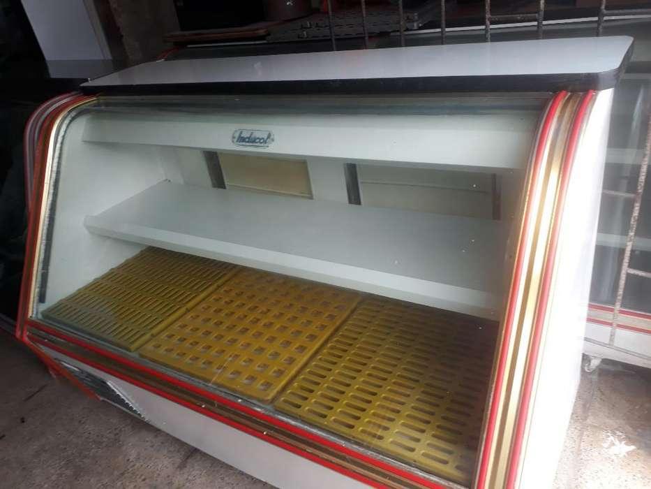Vendo Nebera Vitrina de Congelador.