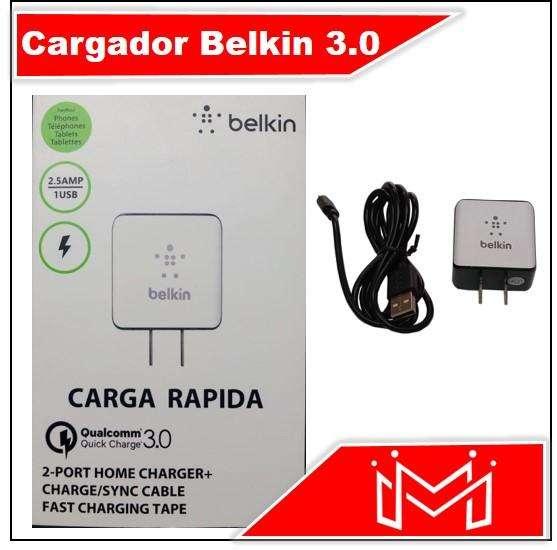 CARGA RÁPIDA BELKIN 3.0 V8
