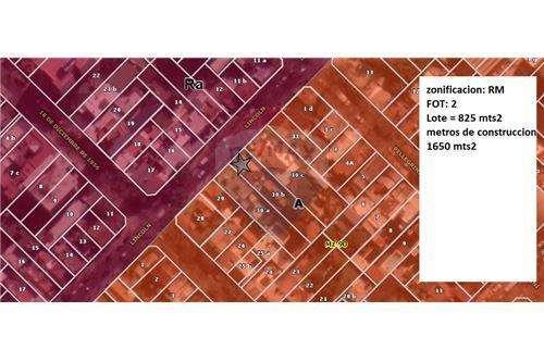 Lote/terreno a la venta 825 mts FOT 2 1650 mts
