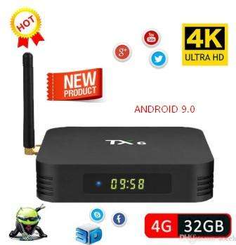 Tv Box Tx6 Android 9 4gb Ddr3 Ram 32gb Rom