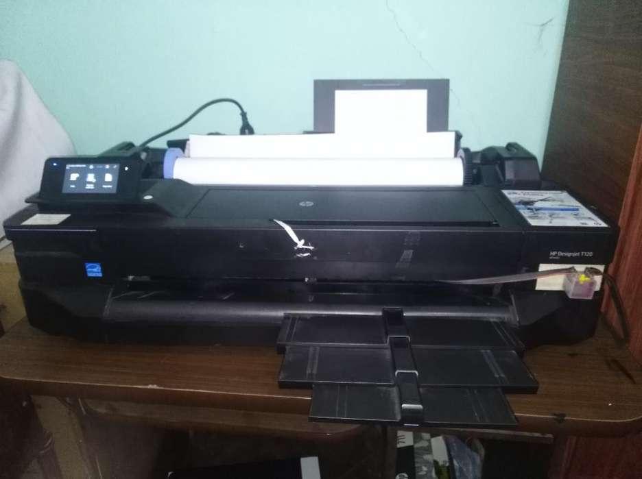 Impresora Hp T120