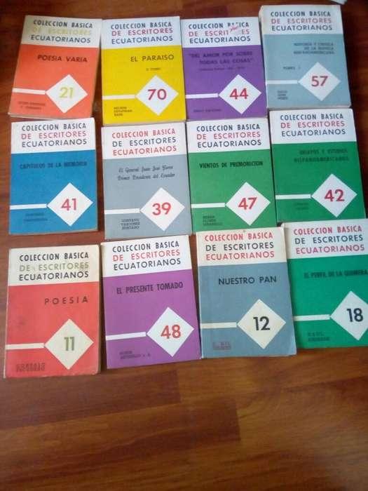 36libros Coleccion de Escritores Ecuator