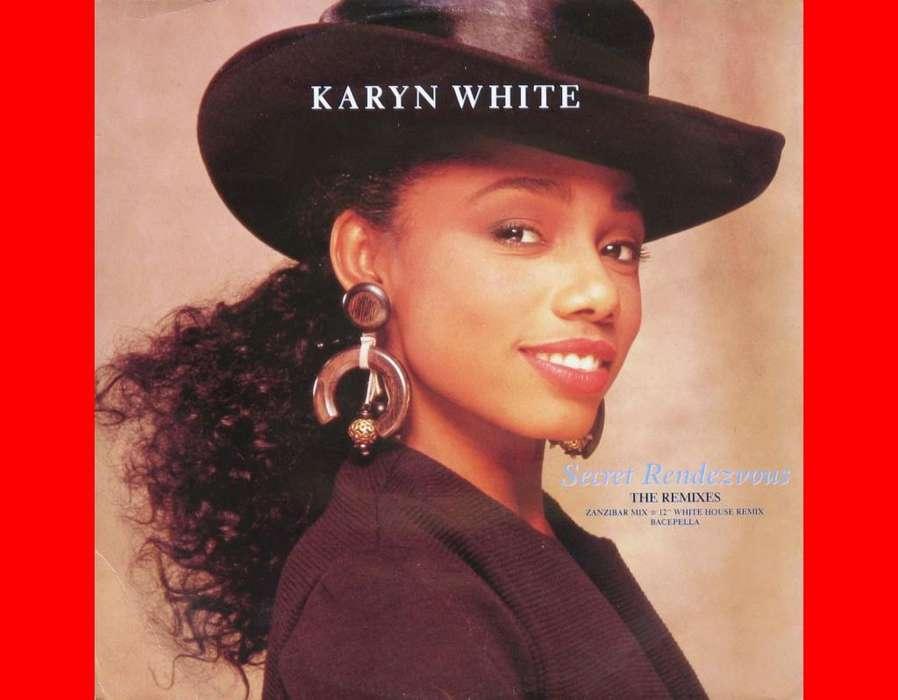 * SECRET RENDEZVOUS Karyn White acetato vinilo Lps singles vinyl records musica para tornamesas DJ tocadiscos deejays