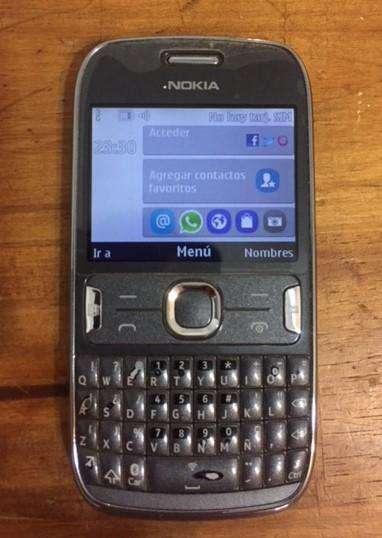 Celular Nokia Asha 302 Movistar Perfecto Estado