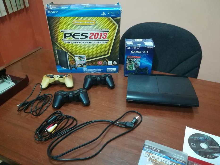 Play Station 3 de 250 Gb 11 Juegos