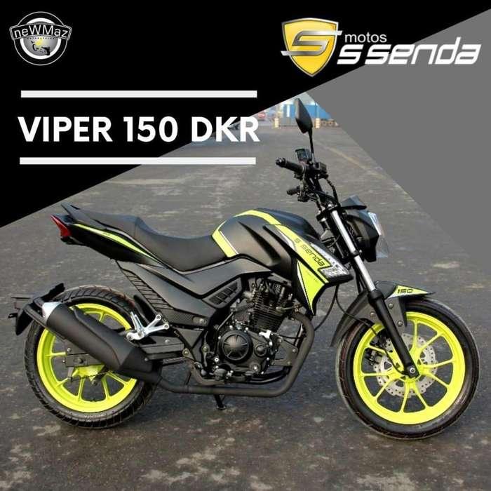 MOTO SSENDA VIPER 150 DKR 2019