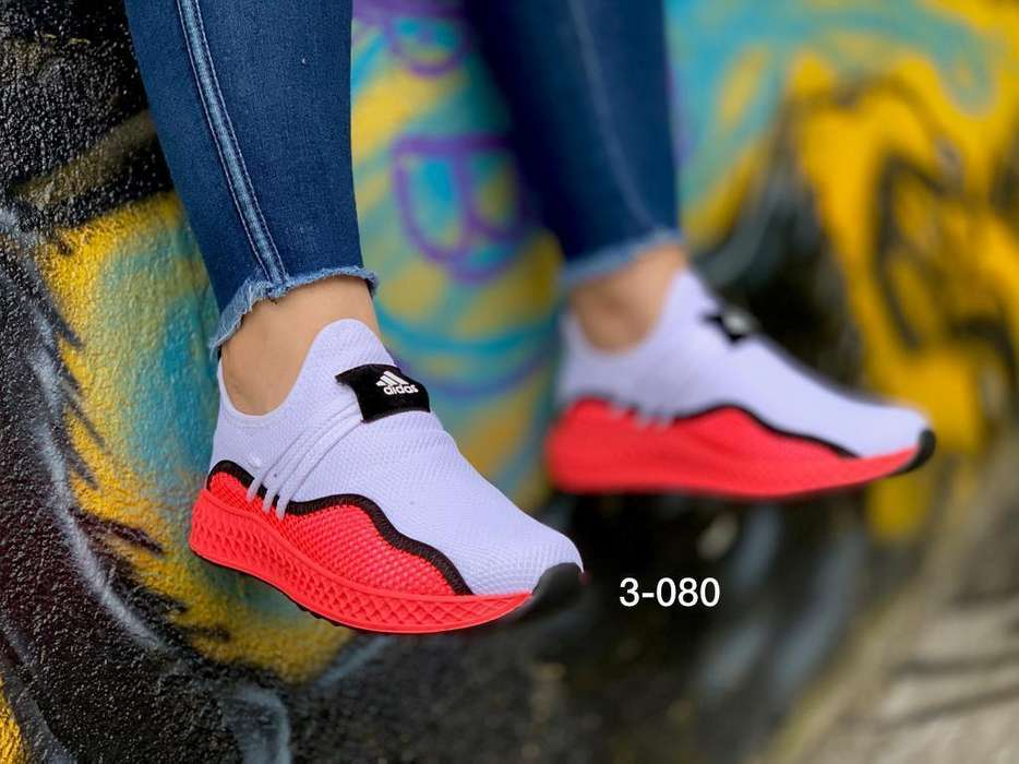 Zapato Tennis Deportivo Adidas Mujer