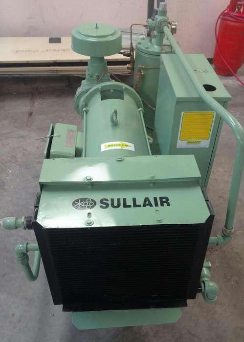 Compresor Sullair de 30 Hp