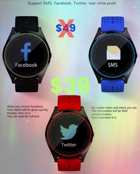 Smart Watch Telefono para Chip